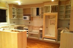 Kitchen renovation - DURING