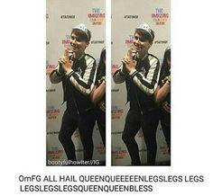 Leg so hot. Hot hot leg. Leg so hot you fry an egg.