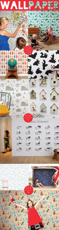 Wonderful Wallpaper For Kids' Rooms: Part 1