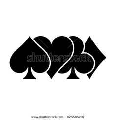 Find Poker Card Suits Hearts Clubs Spades stock images in HD and millions of other royalty-free stock photos, illustrations and vectors in the Shutterstock collection. Thousands of new, high-quality pictures added every day. Forarm Tattoos, Up Tattoos, Hand Tattoos, Small Tattoos, Sleeve Tattoos, Tattoos For Guys, Poker Tattoo, Easy Tattoos To Draw, Card Tattoo Designs