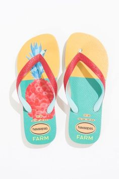 Farmrio + Havaianas Flip Flops