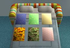 Bedsharing co-sleeper pad for babies and toddlers by simsfreq (Sims2) How to use: Place the co-sleeper pad on the left hand side of the bed in the top two tiles closest to the headboard, with the...