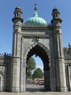 Brighton - Royal Pavilion North Gate http://bovingtonbitsandblogs.blogspot.com.es/ #England #Sussex #Brighton