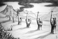 Pablo Barrio Tena: (hu)Manos y cuerdas Painting, Ropes, Hands, Art, Painting Art, Paintings, Drawings