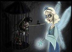 Tim Burton-esque Pinocchio
