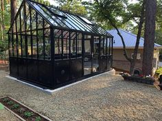 Retro Victorian English Greenhouse with X Strong 4 mm Tempered Glass - Senior.com Greenhouses