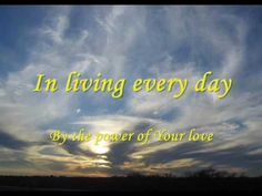 Power of your love with Lyrics By Hillsong