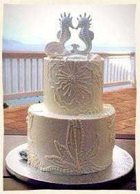 seahorses topped wedding cake Wedding Desserts, Wedding Cakes, Seahorses, Coastal, Wedding Ideas, Weddings, Animal, Flower, Beach