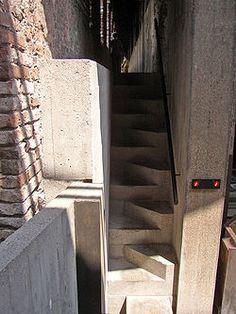 Carlo Scarpa unique staircase