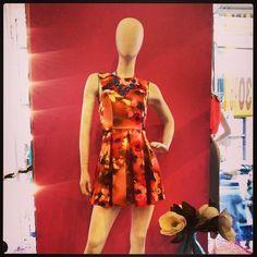 #floralprint #dress of the season #boutique #fashion #style Spring #summer #sundayshopping