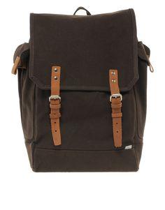 8666fb20c6c9 Sandqvist    Bob Backpack Cotton Canvas