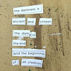 darkness ...  Creating with the Void and David Bowie