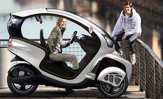 E3WM (Electric Three Wheel Mobile)