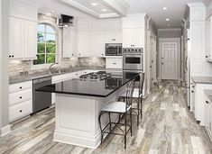 Ceramic Tileworks is your resource for porcelain tile in Minnesota. We also offer natural stone tile, ceramic tile, glass mosaic tile and natural stone floor tile for your decorative tile needs. Condo Kitchen, Home Decor Kitchen, Kitchen Flooring, Kitchen And Bath, Kitchen Remodel, Kitchen Backsplash, Kitchen Ideas, Gray Painted Walls, Grey Walls