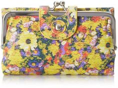 HOBO Vintage Alice Wallet, Daisy Floral, One Size
