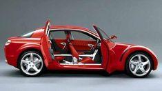 Mazda RX8. Los coches más raros fabricados en serie