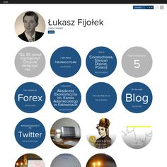 Graphical bio: Łukasz Fijołek