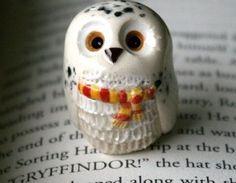 ⚡️ Plus belle que jamais en pâte Fimo : voici Hedwige, la chouette d'Harry Potter !