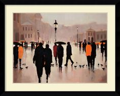 'Where We Once Walked' by Lorraine Christie Framed Art Print