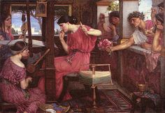 John William Waterhouse, Penelope and the Suitors