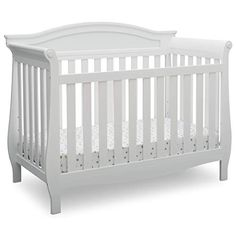 Delta Children Lancaster Convertible Baby Crib, Bianca White - Compare and Shop The Best Stuff Lancaster, 4 In 1 Crib, Best Baby Cribs, Nursery Furniture Collections, Modern Crib, Delta Children, Convertible Crib, Crib Mattress, Baby Furniture