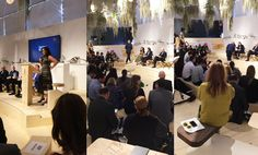 My Design Agenda had the opportunity to attend Design Miami opening press conference that took place yesterday with the presence of the CEO, Jennifer Roberts. Design Miami, My Design, Conference, Opportunity