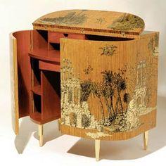 Painted Furniture, Diy Furniture, Furniture Design, Decoration, Art Decor, Home Decor, Piero Fornasetti, Oriental Furniture, Interior Decorating