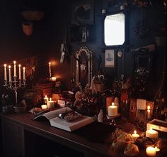 Unique Home Witch Decorating Ideas For Amazing Home Decor Inspiration - witchy - Decor Witch Cottage, Witch House, Witch Room, Goth Home, Interior Decorating, Interior Design, Decorating Ideas, Decor Ideas, Witch Decor