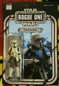 Custom Vintage Shoretrooper Action Figure 3.75in Star Wars Rogue One Hasbro | Toys & Hobbies, Action Figures, TV, Movie & Video Games | eBay!