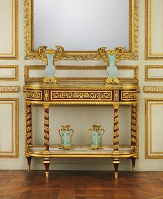 Jean Henri Riesener (French 1734–1806). Side table (commode servante or commode desserte), ca.1790. The Metropolitan Museum of Art, New York.Gift of Mr. and Mrs. Charles Wrightsman, 1977 (1977.102.8).