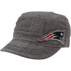 47 Brand New England Patriots Women s Dover Adjustable Military Hat - Gray c6d37a031