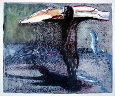 """Saatchi Online Artist Maia S Oprea; Printmaking, """"D.M.13 monotype after """"Dust IX"""""""" #art"""