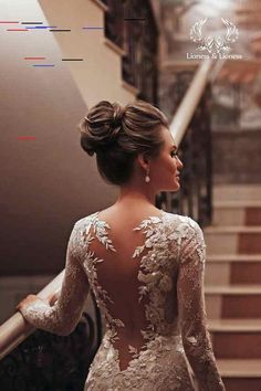 Classy flowers lace wedding dress mermaid illusion open back.- Classy flowers lace wedding dress mermaid illusion open back Long Sleeve Wedding, Long Wedding Dresses, Bridal Dresses, Wedding Gowns, Boho Wedding, Open Back Wedding Dress, Lace Sleeve Wedding Dress, Wedding Ideas, Wedding Unique