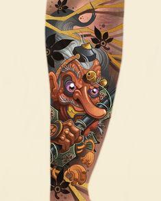 Bio Organic Tattoo, Japan Tattoo, Irezumi, Get A Tattoo, Tattoo Designs, Barcelona, Photo And Video, Tattoos, Instagram