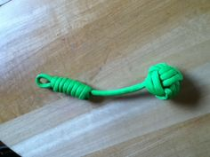 Para cord monkey fist key chain with different tie!!!