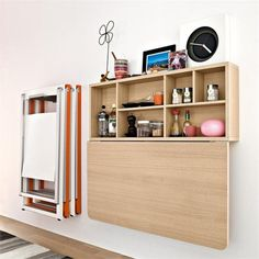 Wall Mounted Fold Up Dining Table Kitchen Folding