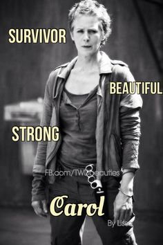 Carol is ready to fight in new Walking Dead stills