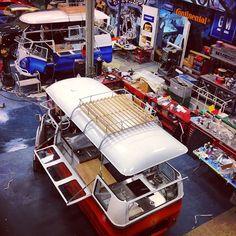 West Coast custom VW food bus. Must. Start. Saving.