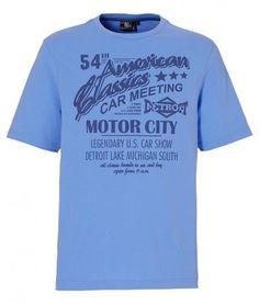 Tricouri ieftine: Tricou barbatesc cu imprimeu in relief