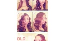 Make an Old Hollywood Waves For Your Hair