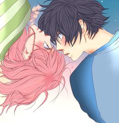 cute-futaba-yoshioka-mabuchi-kou-anime-girl-boy-couple-high-school-life-shoujo-manga-romance-slice-of-life-genre-ao-haru-ride-aoharaido-blue-spring-ride-HD-picture.png (1024×1057)