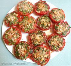 Tomates à la provençale (végé)