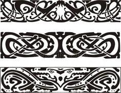 Скачать - Кельтский дизайн с змеи и Дракон — стоковая иллюстрация #38157281
