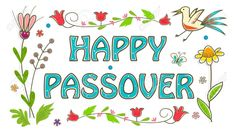 Illustration about Floral banner with happy Passover text in the center. Illustration of passover, celebration, bird - 49958075 Happy Passover Images, Happy Passover Greeting, Passover Greetings, Passover Holiday, Passover 2015, Facebook Image, For Facebook, Passover Wishes, Buen Dia