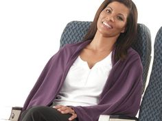 What might be the perfect temperature for one car passenger could be downright chilly for another. This Luxe Wrap-Around Blanket is a lightweight and easy to pack solution, and it folds into its own pouch to double as a pillow. Car trips have never been so comfortable!