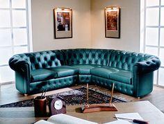 Диван Честер-люкс трехместный – представитель мебели высшего класса