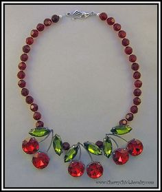 Crystal Cherries by Cherry Chick Jewelry, via Flickr