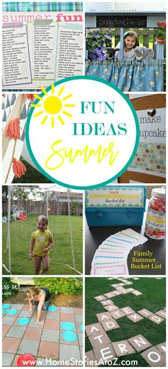 5 DIY Summer Family Activities To Try Before School Starts