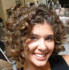 spiral perms for short hair | Kapsels kort haar 2014
