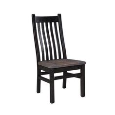 Reclaimed Barn Wood London Dining Chair Rich and warm, the London Dining Chairs are made with reclaimed wood. Handcrafted wood furniture made in America. #diningchairs #reclaimedwood